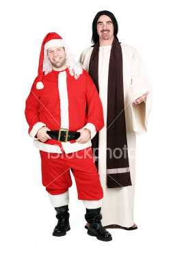 ist2_2609716-jesus-and-santa