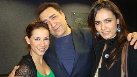 Claudia Lizaldi, Victor Manuel Lujan y Melbaleny